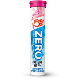High5 Zero Caffeine Hit Electrolyte Sports Drink Tabs 20 Pieces, Pink Grapefruit